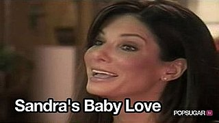 Video of Sandra Bullock on The Today Show Talking About Baby Louis