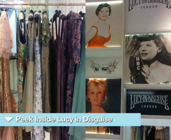 Sneak Preview of Lily Allen's Pop Up Store