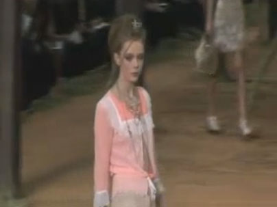 Paris Fashion Week: Chanel Spring 2010 Video