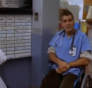 George Clooney's ER Blooper Reel Video