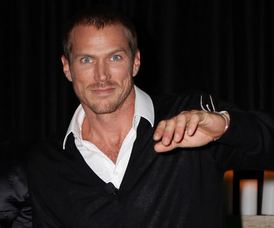 Slide Picture of Jason Lewis at an Event in Sydney