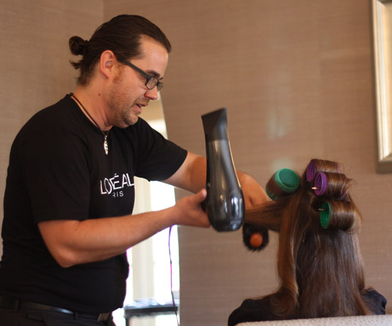 Christophe Styles a Star's Hair