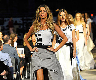 Slide Picture of Gisele Bundchen at Fashion's Night Out