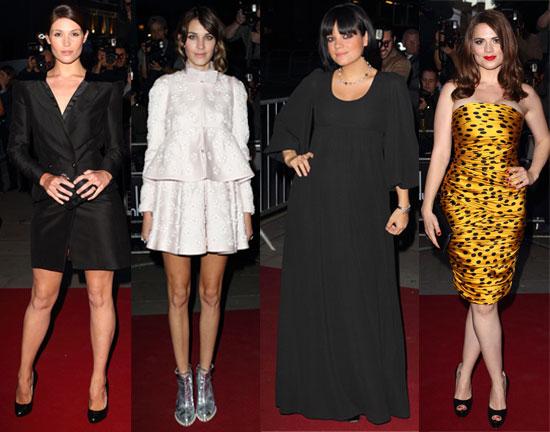 Gemma Arterton, Lily Allen, Jon Hamm, Ed Westwick at GQ Men of Year Awards Full List of Winners 2010
