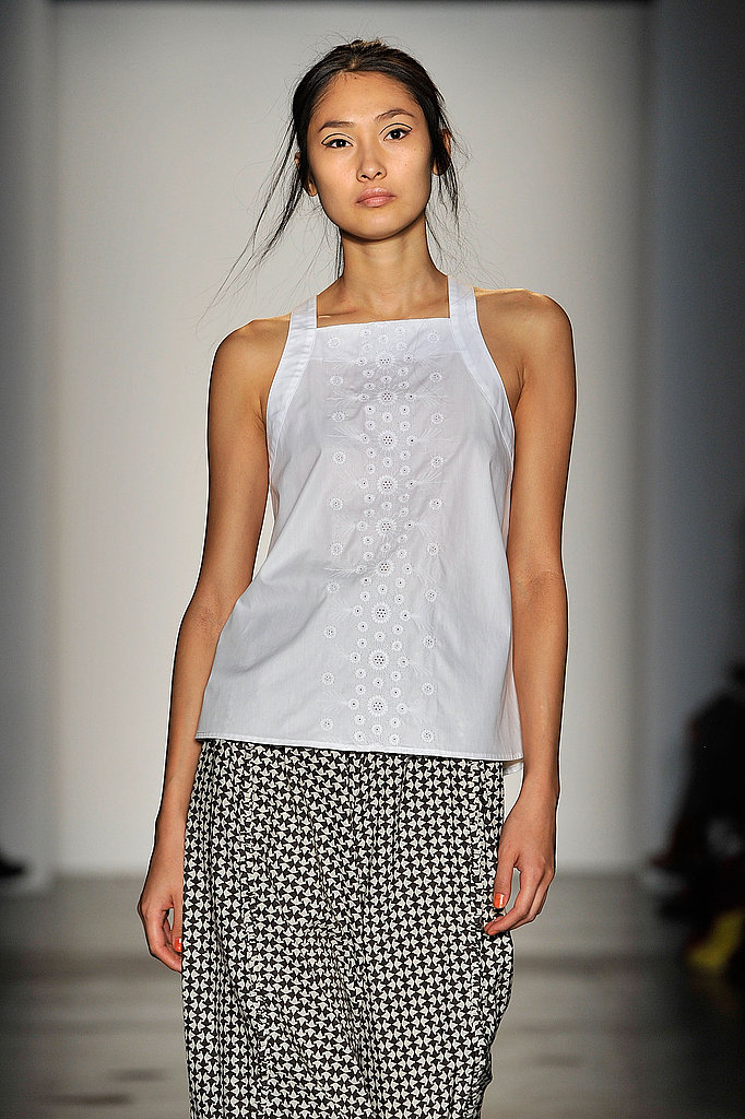 Pregnant Rachel Comey Kicks Off The Season of the White Dress with Her Spring 2011 Collection