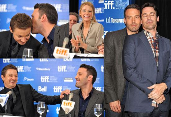 Pictures of Ben Affleck, Blake Lively, Jon Hamm, Jeremy Renner at Toronto Film Festival 2010-09-10 14:00:00