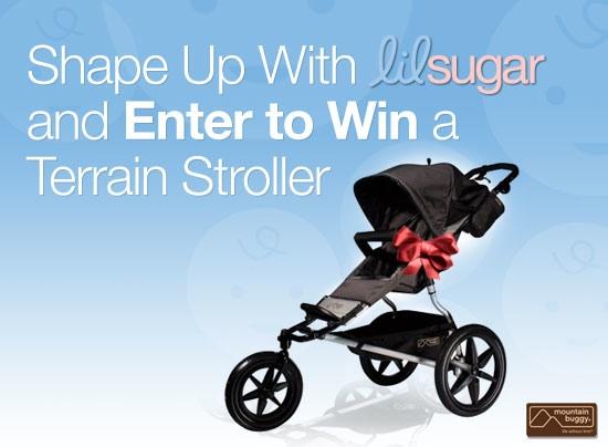 Win a Mountain Buggy Terrain Jogging Stroller on LilSugar!