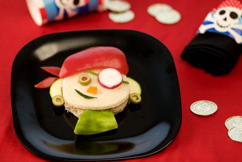 Make a Fun Pirate Sandwich