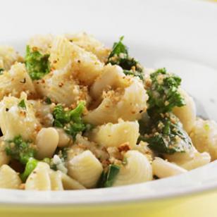 Recipe For Orecchiette With Broccoli Rabe and Chickpeas