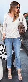 Rachel Bilson Carries a Bronze Chanel Bag in Beverly Hills
