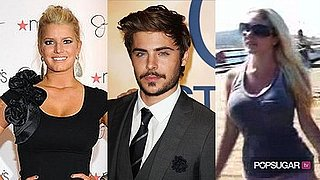 Video of Jessica Simpson in New York, Zac Efron Talking About His Beard, and Heidi Montag Holding Hands With Spencer Pratt on He