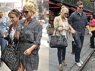 Pictures of Jessica Simpson and Eric Johnson in New York 2010-09-17 15:00:00