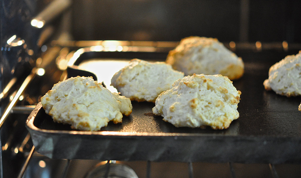 Goat Cheese Buttermilk Biscuits