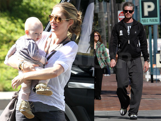 Pictures of Rebecca Gayheart and Billie Dane on a Playdate in LA