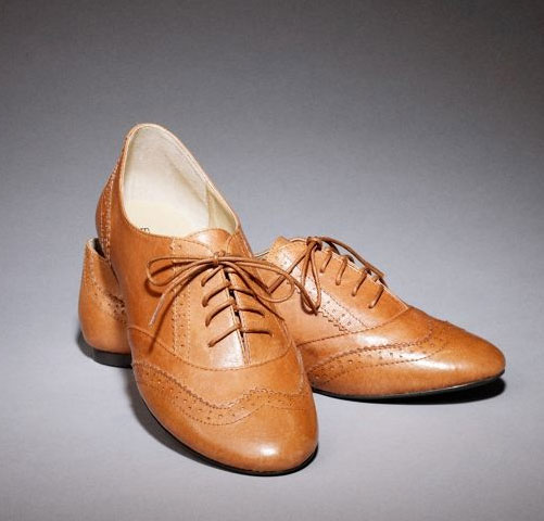 Express Lace-up Oxfords ($80)