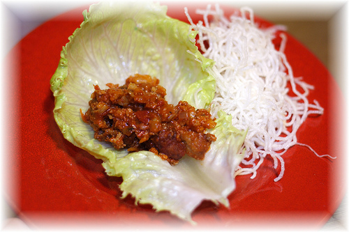 PF Chang's Lettuce Wraps @ Home!