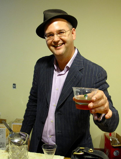Can I offer you a drink? Steven Liles of Smuggler's Cove.