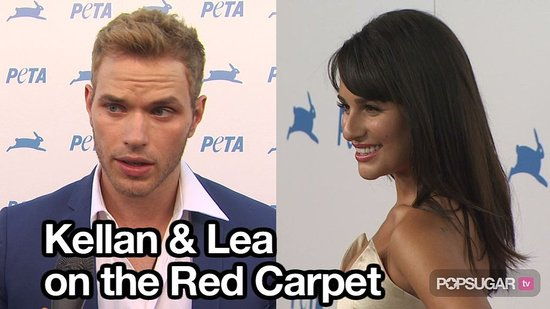 Video of Kellan Lutz, Chirstian Serratos, and Lea Michele on the Red Carpet 2010-09-27 12:29:56