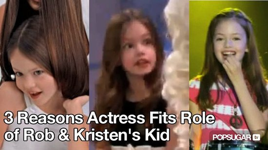Video of Breaking Dawn Renesmee Actress Mackenzie Foy 2010-09-28 11:18:13