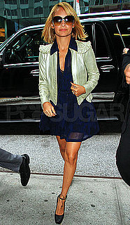 Pictures of Nicole Richie Following Her Visit to The View in NYC