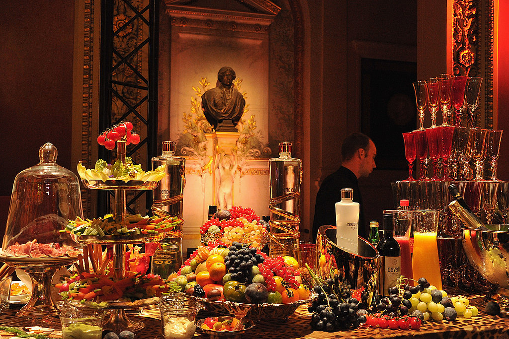 Can you hear the decadence calling? Towers of champagne, gorgeous displays, and amazing surroundings.