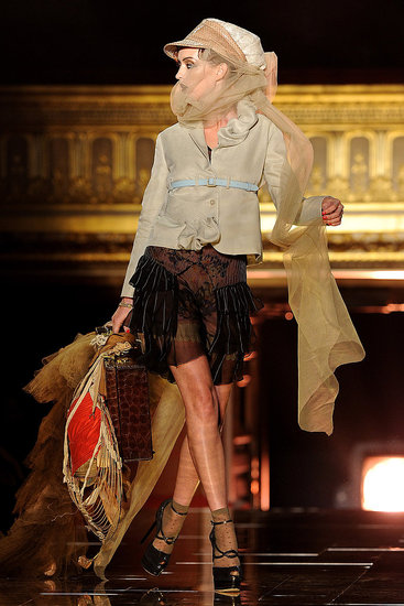 Spring 2011 Paris Fashion Week: John Galliano