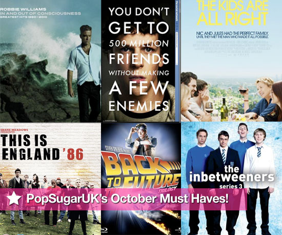 PopSugarUK's Must Haves of Films, DVDs, and CDs Released in October 2010