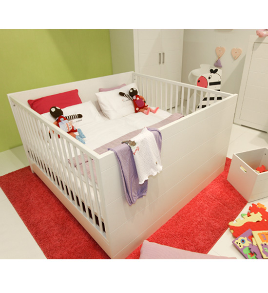 Mini Meise Twin Crib Modern Nursery New Cribs For Unconventional Tots Popsugar Moms