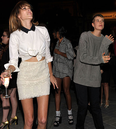 Pictures of Alexa Chung, Agyness Deyn, Kelly Osbourne at Teen Vogue Young Hollywood Party
