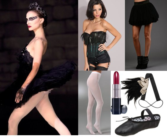 Diy Halloween Costumes Black Swan Black Swan Halloween Costume