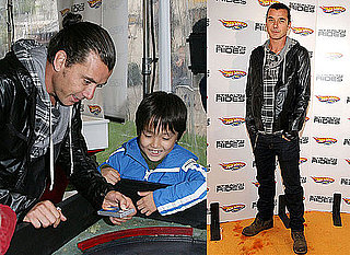 Gavin Rossdale at a Hot Wheels Launch