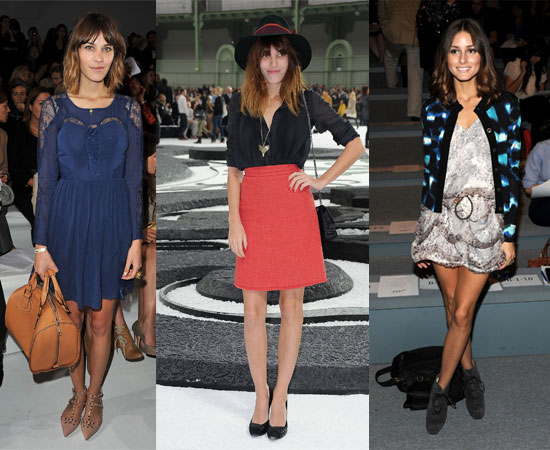 Pictures of Olivia Palermo, Diane Kruger, Alexa Chung and More From 2011 Spring Fashion Week