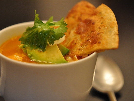 Tyler Florence's Spicy Chicken Tortilla Soup Recipe