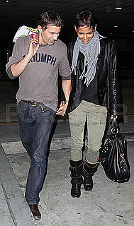 Pictures of Halle Berry and Olivier Martinez Holding Hands in LA