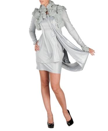 Ludmila Kruglika | Silver dress | CreativeLatvia.com