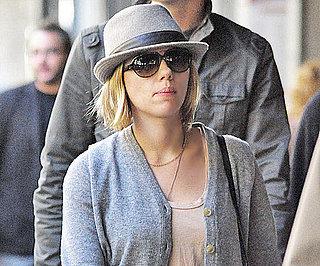 New Pictures of Scarlett Johansson's New Shorter, Blonder Haircut
