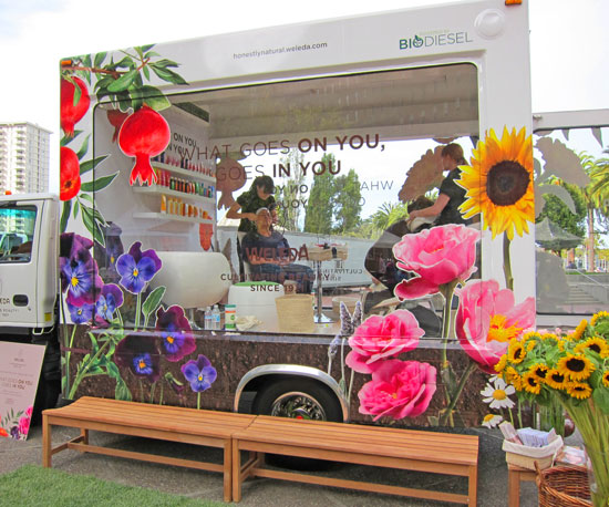 Weleda Is Driving a Biodiesel Truck to LA