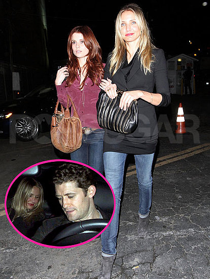 Pictures of Cameron Diaz With Joanna Garcia and Matthew Morrison in LA