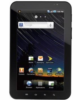 Samsung Galaxy Tab Sprint Price