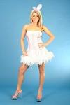 Pink fluffy bunny dress (£24.99)
