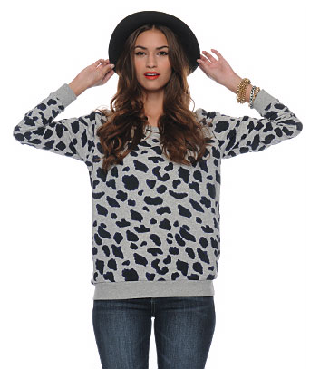 Spotted Pullover ($18)