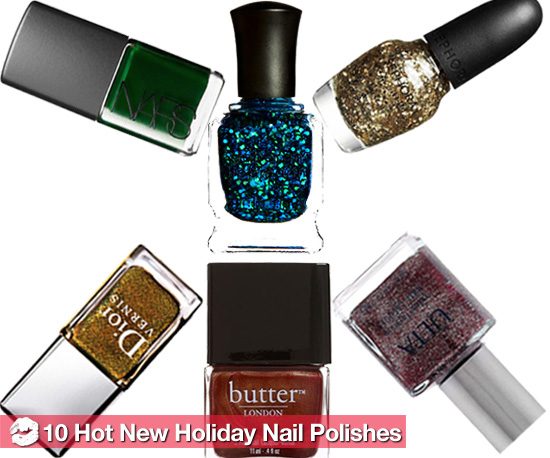 10 Cheap New Holiday 2010 Nail Polish Colors