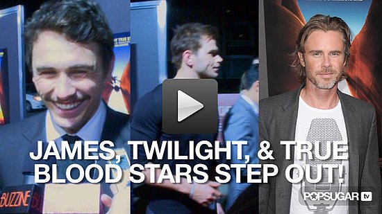 James Franco at the 127 Hours Premiere With Kellan Lutz and True Blood Stars