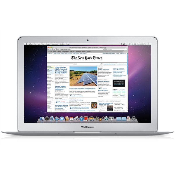 MacBook Air ($999 and Up)