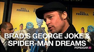 Video of Brad Pitt at the Megamind Premiere in New York 2010-11-04 17:30:00