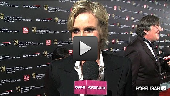 Video of Jane Lynch Talking About a Sue Sylvester Wedding on Glee 2010-11-05 12:50:00