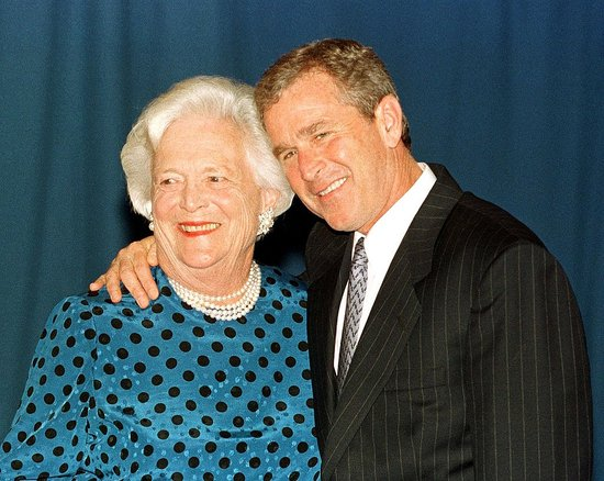 Barbara Bush Showed George Bush Jar With Miscarried Fetus