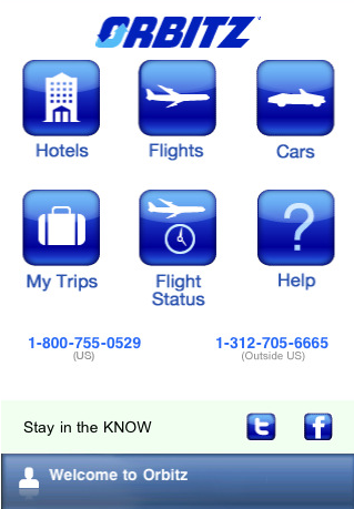 Orbitz Travel Apps For iPhone and Android