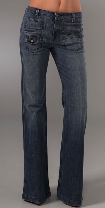 Seven For All Mankind Georgia Trouser Jeans ($189)