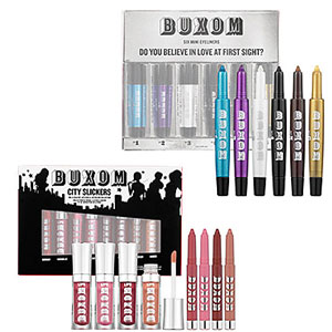 Enter to Win a Buxom Do You Believe in Love at First Sight? Mini Eyeliners Set and City Slickers Lip Colors 2010-11-23 23:30:00